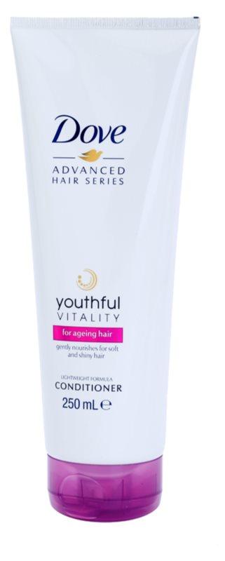 Dove Advanced Hair Series Youthful Vitality kondicionér pro unavené vlasy bez lesku