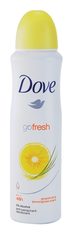 Dove Go Fresh Energize Anti - Perspirant Deodorant Spray 48h