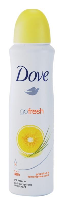 Dove Go Fresh Energize deodorant antiperspirant ve spreji 48h
