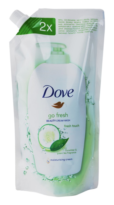 Dove Go Fresh Fresh Touch Liquid Soap Refill