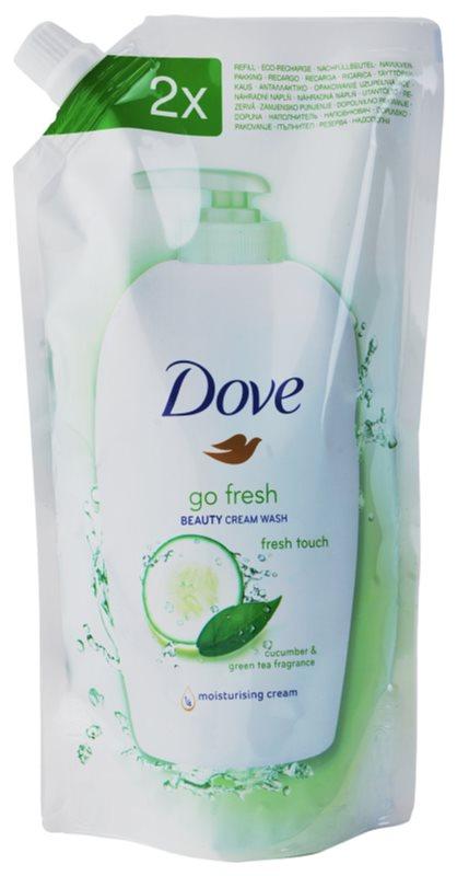 Dove Go Fresh Fresh Touch tekuté mydlo náhradná náplň