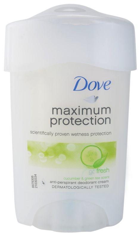 Dove Go Fresh Maximum Protection Antitranspirant-Creme 48 Std.