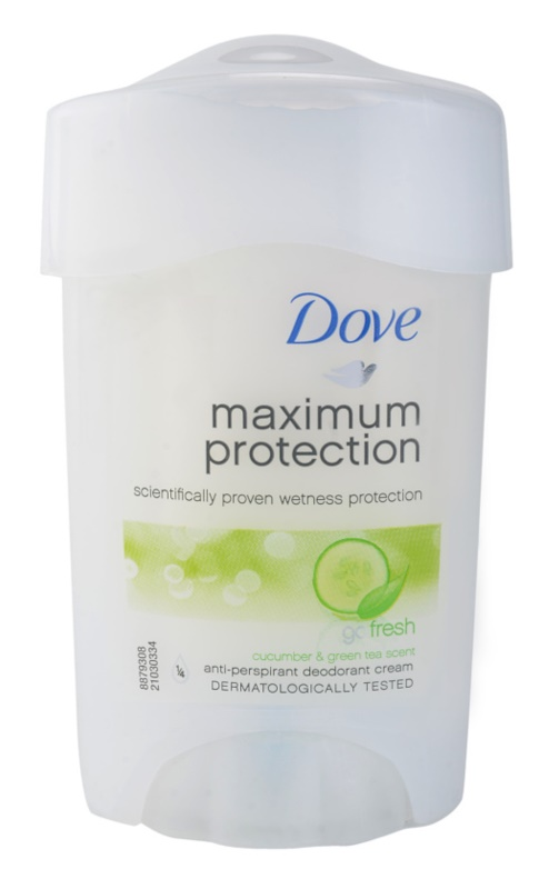 Dove Go Fresh Maximum Protection krémový antiperspirant 48h