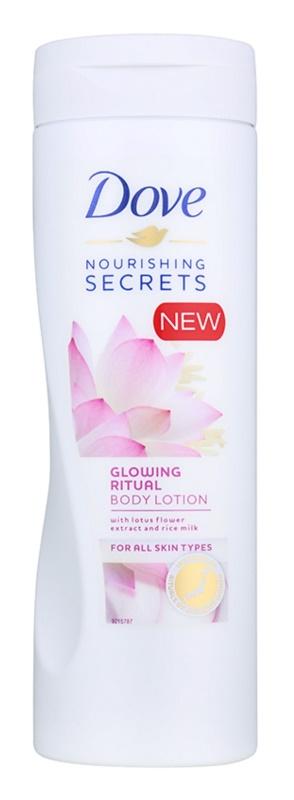 Dove Nourishing Secrets Glowing Ritual tělové mléko