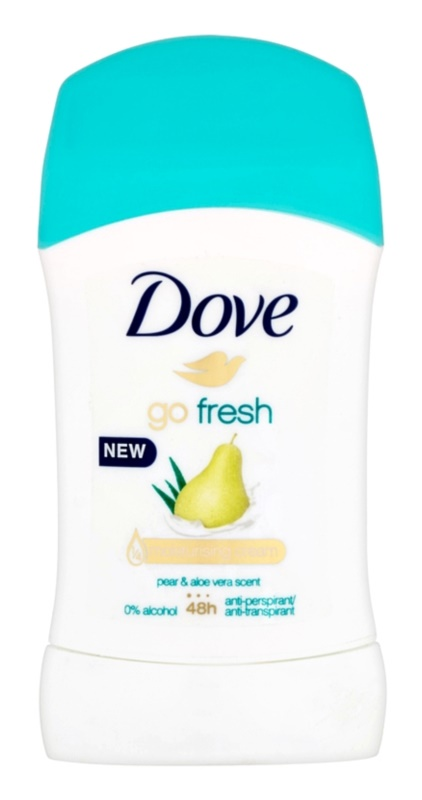 Dove Go Fresh antitranspirante en barra 48h