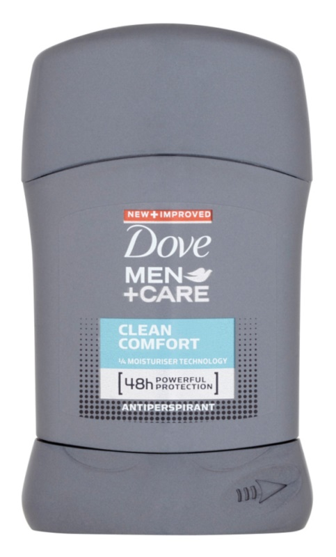 Dove Men+Care Clean Comfort antitranspirante en barra 48h