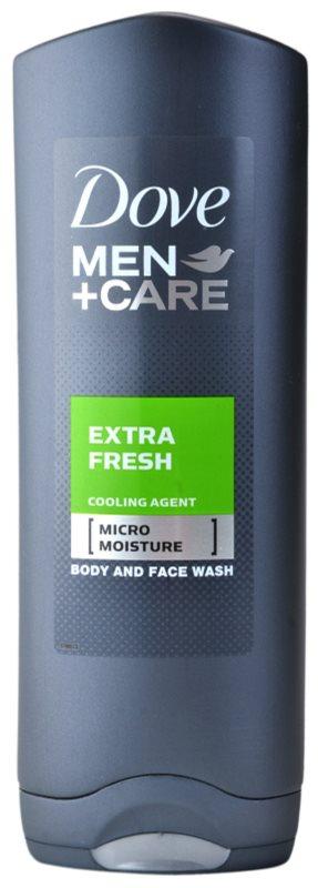 Dove Men+Care Extra Fresh żel pod prysznic do ciała i twarzy