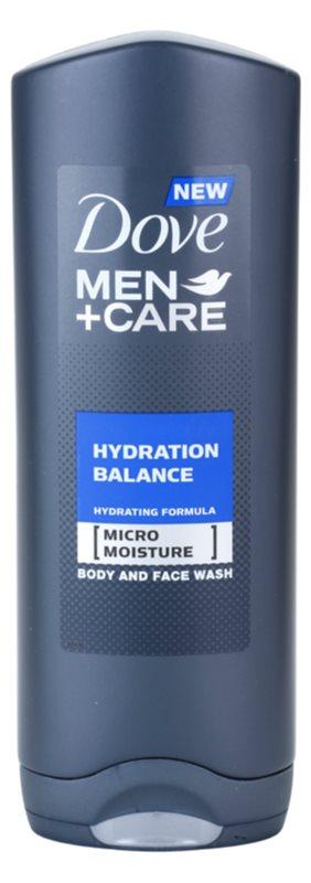 Dove Men+Care Hydration Balance Douchegel voor Lichaam en Haar  voor Mannen