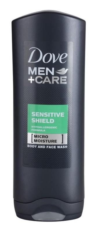 Dove Men+Care Sensitive Clean gel za prhanje