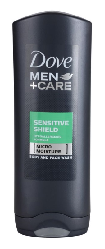Dove Men+Care Sensitive Clean tusfürdő gél