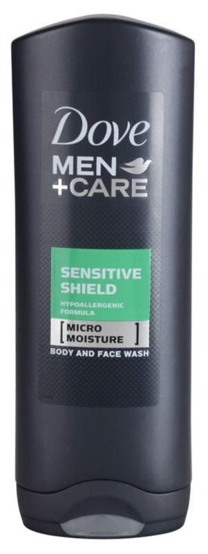 Dove Men+Care Sensitive Clean гель для душу