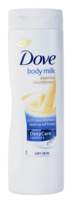 Dove Original leite corporal nutritivo  para pele seca