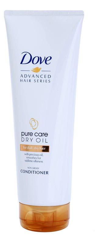 Dove Advanced Hair Series Pure Care Dry Oil acondicionador para cabello seco y apagado