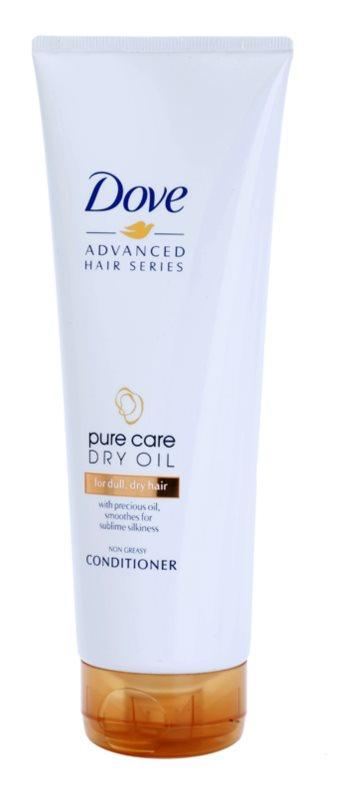 Dove Advanced Hair Series Pure Care Dry Oil balzam za suhe in mat lase
