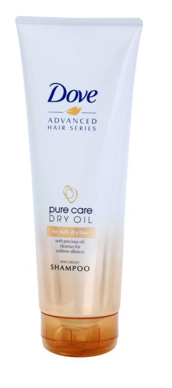 Dove Advanced Hair Series Pure Care Dry Oil sampon a száraz és matt hajra