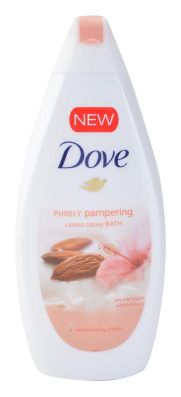 Dove Purely Pampering Almond espuma de baño