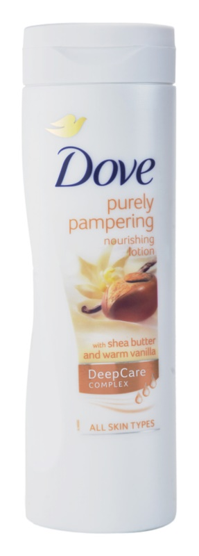 Dove Purely Pampering Shea Butter nährende Körpermilch