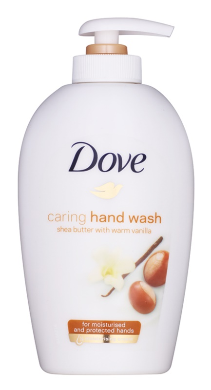 Dove Purely Pampering Shea Butter Flüssigseife mit Pumpe