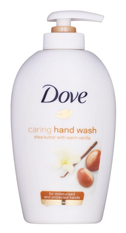 Dove Purely Pampering Shea Butter Flüssigseife mit Pumpe