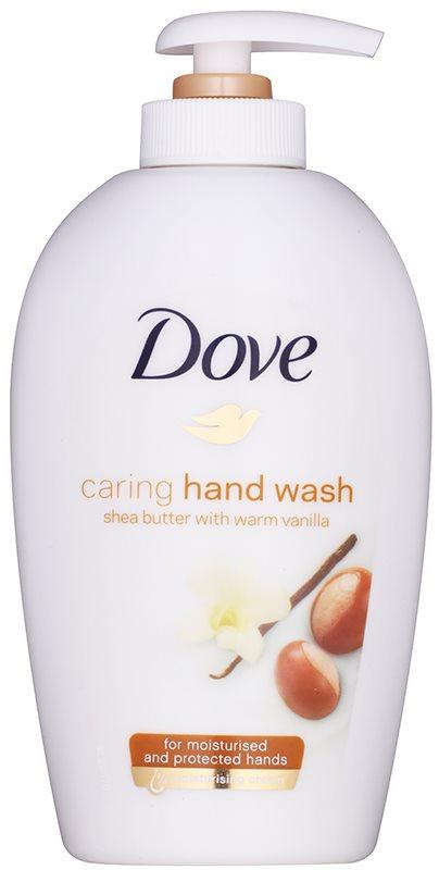 Dove Purely Pampering Shea Butter tekuté mydlo s pumpičkou