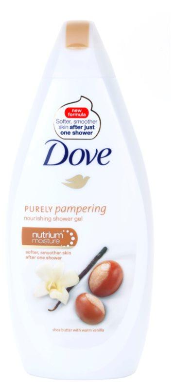 Dove Purely Pampering Shea Butter hranilni gel za prhanje