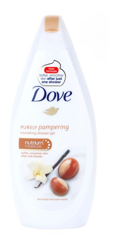 Dove Purely Pampering Shea Butter vyživující sprchový gel