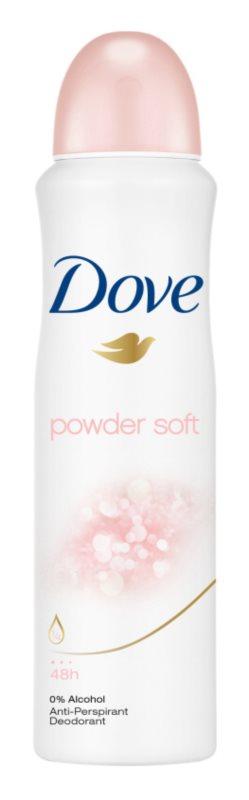 Dove Powder Soft antiperspirant ve spreji