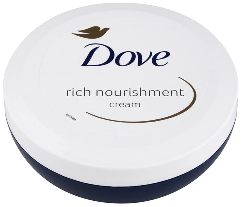 Dove Rich Nourishment výživný tělový krém s hydratačním účinkem