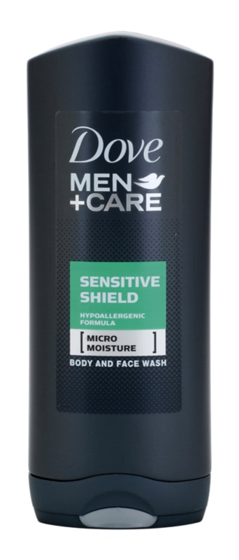 Dove Men+Care Sensitive Shield гель для душа для обличчя та тіла