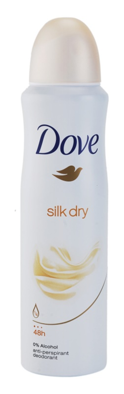 Dove Silk Dry deodorant spray antiperspirant