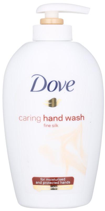 Dove Silk Fine Flüssigseife mit Pumpe