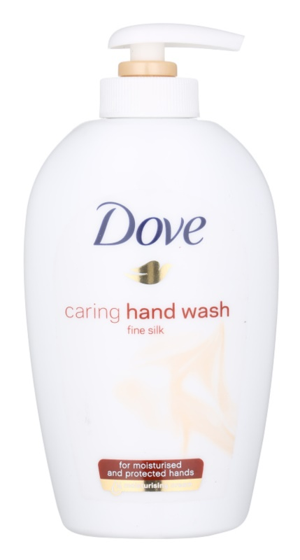 Dove Silk Fine tekuté mydlo s pumpičkou