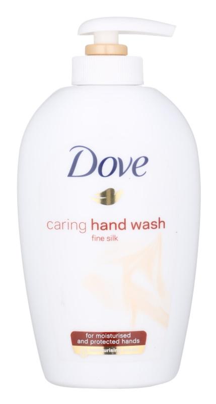 Dove Silk Fine рідке мило з дозатором