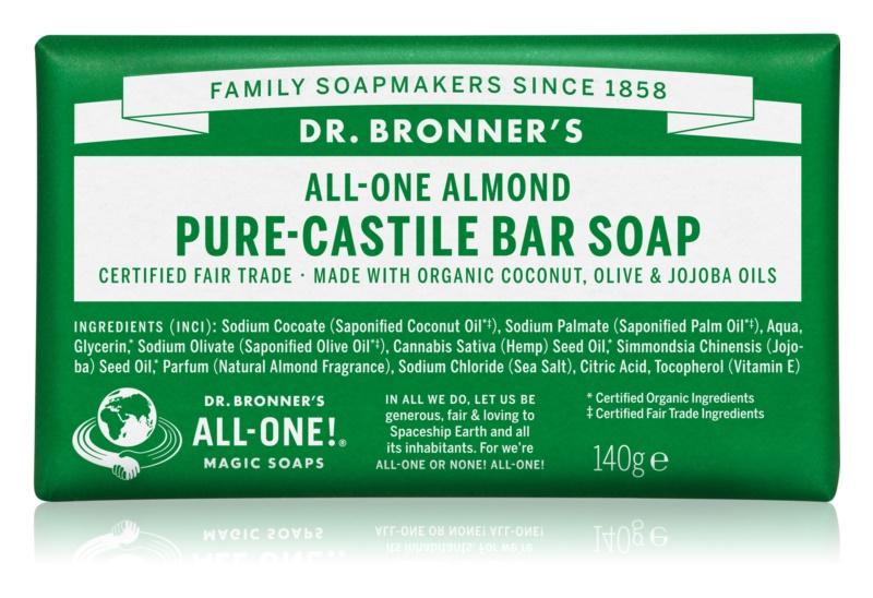Dr. Bronner's Almond туалетне мило