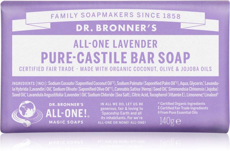 Dr. Bronner's Lavender trdo milo