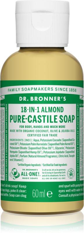 Dr. Bronner's Almond săpun lichid universal