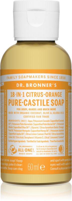 Dr. Bronner's Citrus & Orange Universal Liquid Soap
