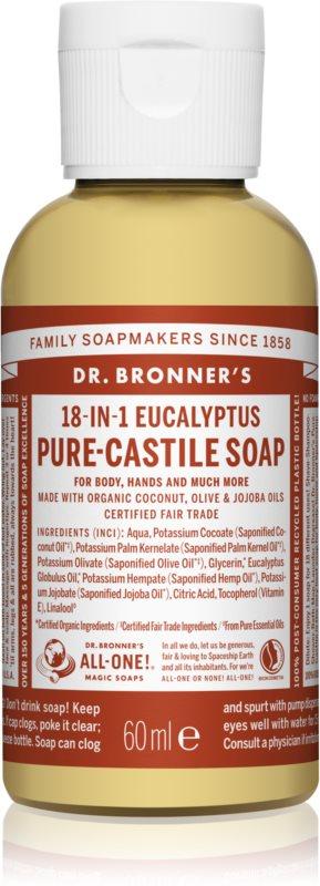 Dr. Bronner's Eucalyptus uniwersalne mydło w płynie