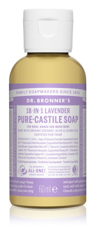 Dr. Bronner's Lavender tekuté univerzálne mydlo