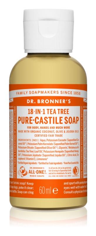 Dr. Bronner's Tea Tree Universal Liquid Soap