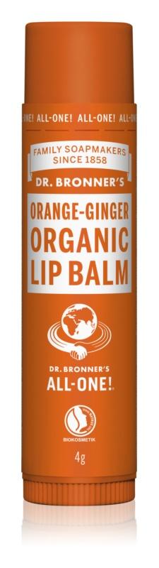 Dr. Bronner's Orange & Ginger balzam na pery