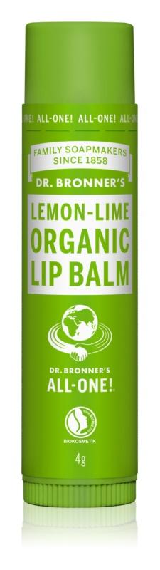 Dr. Bronner's Lemon & Lime Lippenbalsem