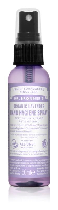 Dr. Bronner's Lavender bezoplachový čisticí sprej na ruce