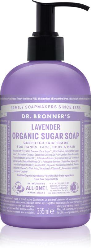 Dr. Bronner's Lavender sapun lichid pentru corp si par
