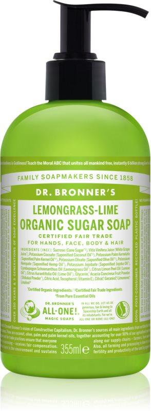 Dr. Bronner's Lemongrass & Lime Flüssigseife Für Körper und Haar