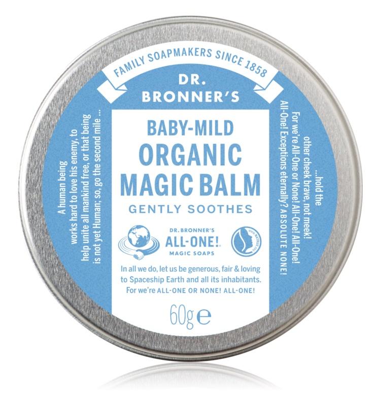Dr. Bronner's Baby-Mild Body Balm Fragrance-Free