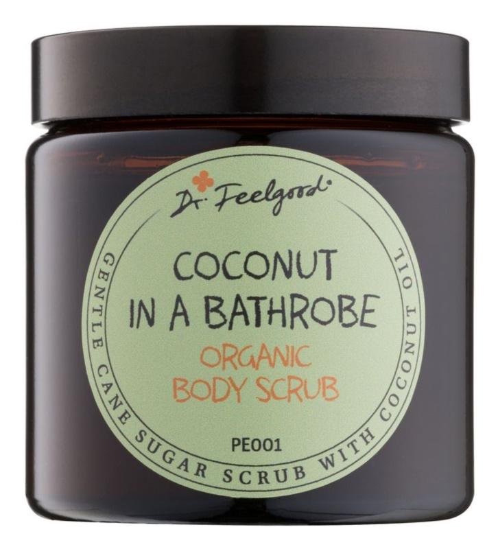 Dr. Feelgood BIO exfoliant din zahar cu ulei de cocos