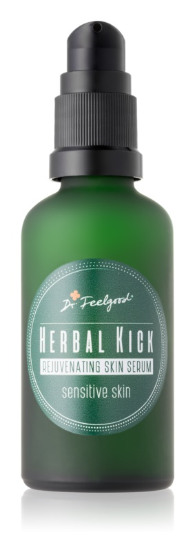 Dr. Feelgood Herbal Kick dvofazni pomlajevalni serum za občutljivo kožo