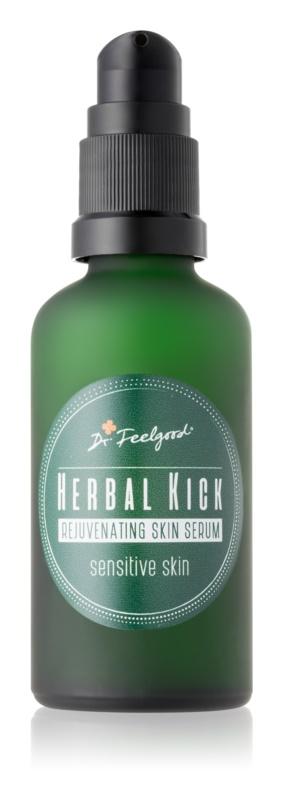 Dr. Feelgood Herbal Kick dvoufázové omlazující sérum pro citlivou pleť