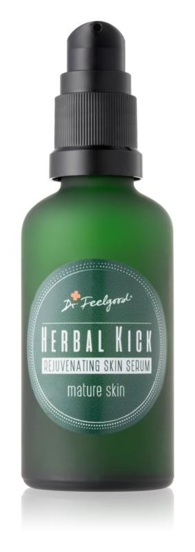 Dr. Feelgood Herbal Kick dvofazni pomlajevalni serum za zrelo kožo